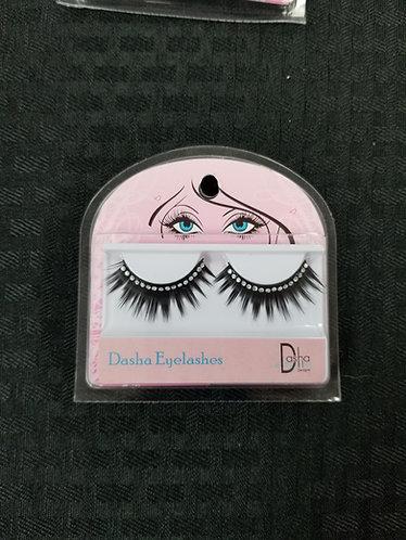 2482 Rhinestone Eyelashes w/ Glue