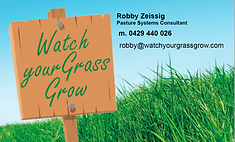 Logo for Watch Your Grass Grow