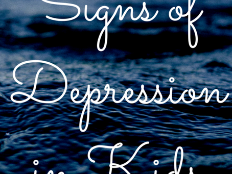 Signs of Depression in Children & Teens