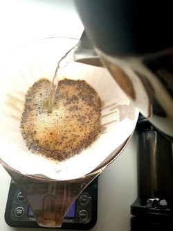Pouring into Clever Cup