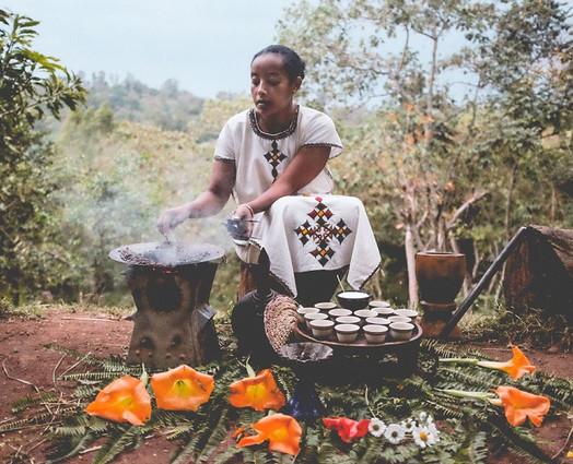 Coffee Ceremony Ethiopia