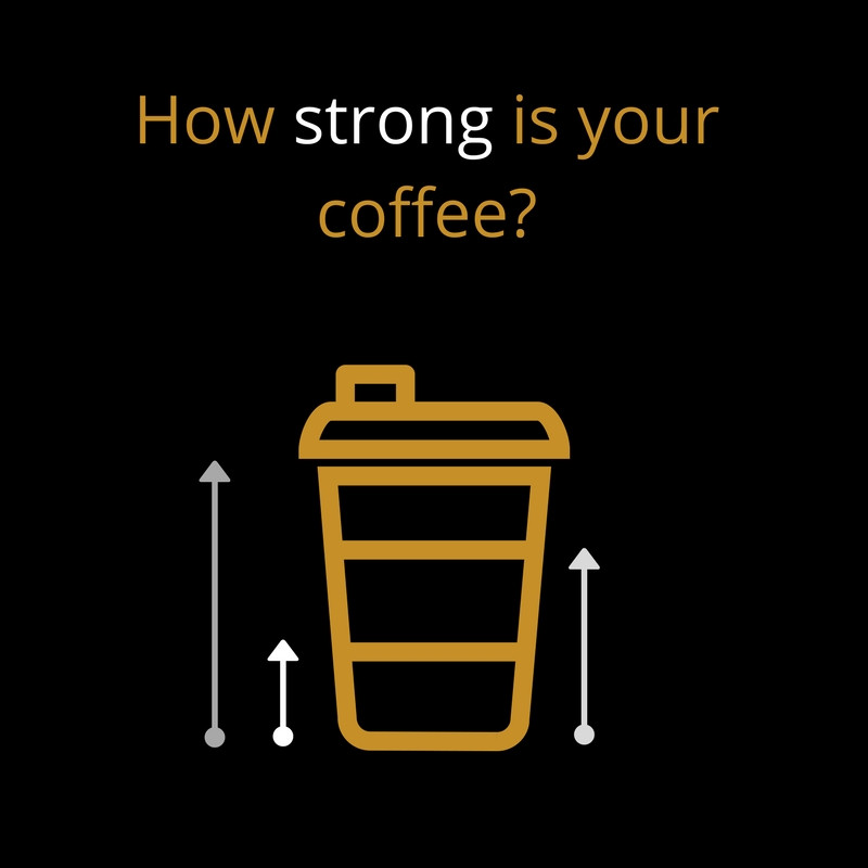 What is a strong coffee?