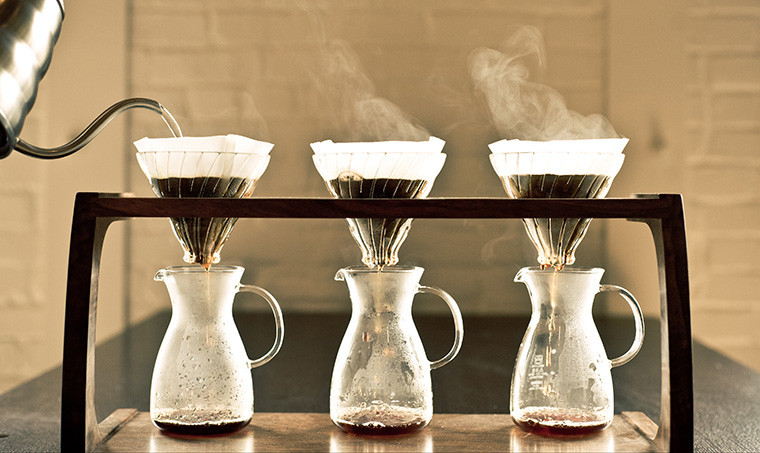 Extraction pour over