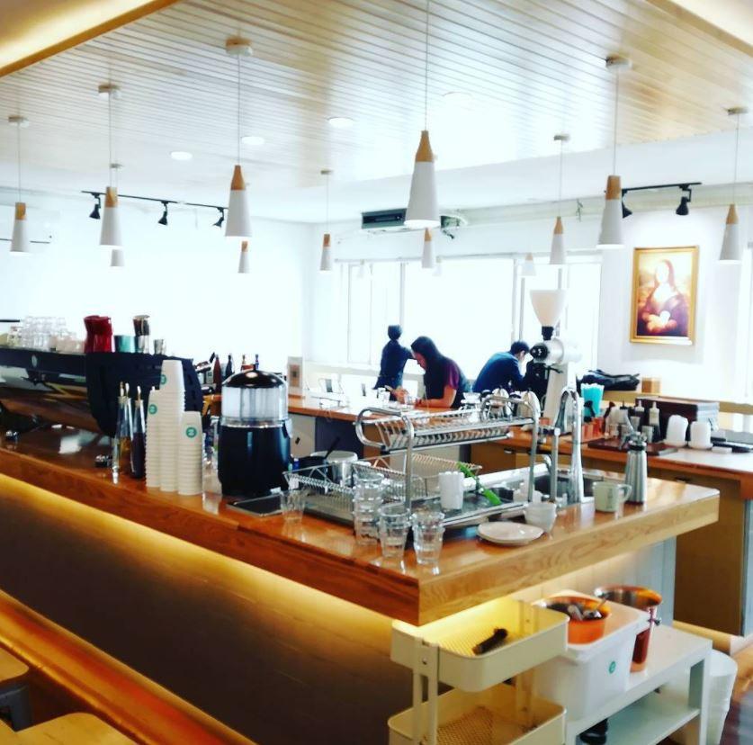 Wuhan 1.Z coffee shop