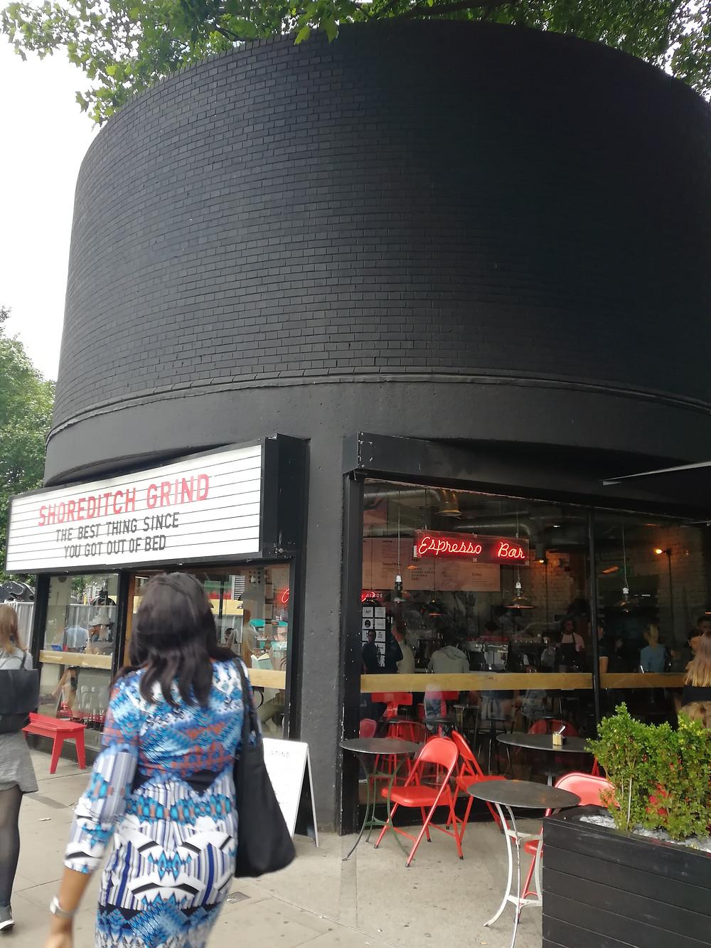 Shoreditch Grind London coffee shop