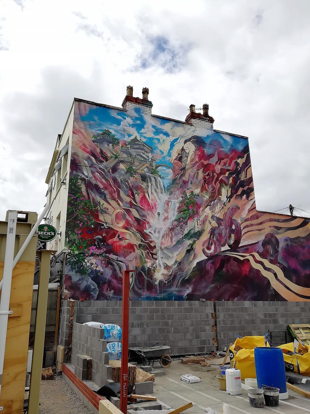 Bristol Upfest street art