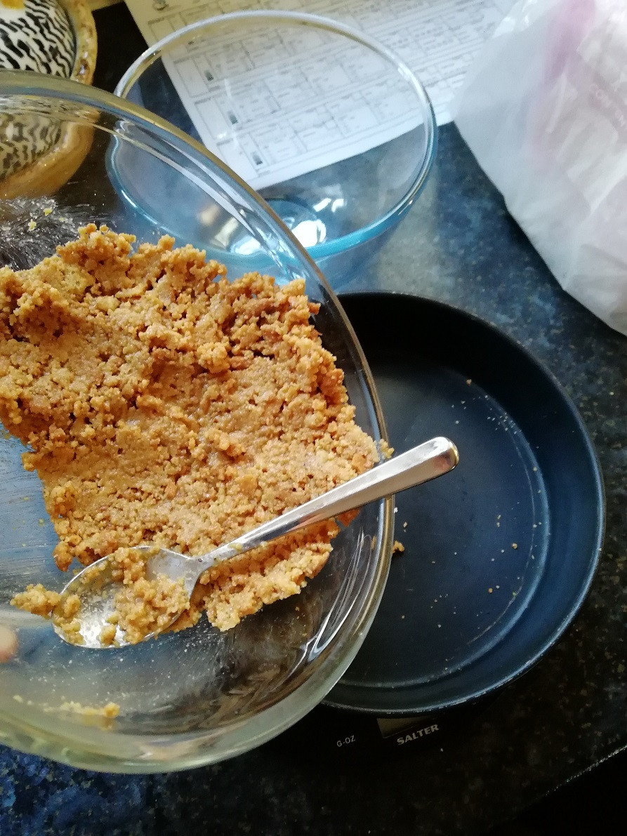 Cheesecake base recipe