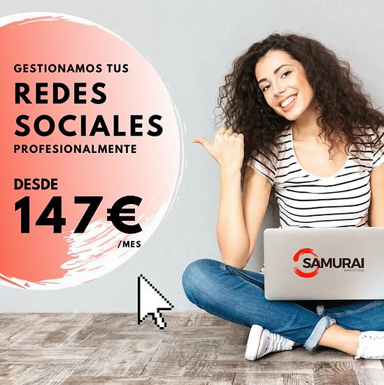 GESTIÓN PROFESIONAL DE TUS REDES SOCIALES