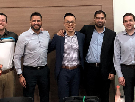 Alunos do MBA da Ivey Business School visitam a med.driven.