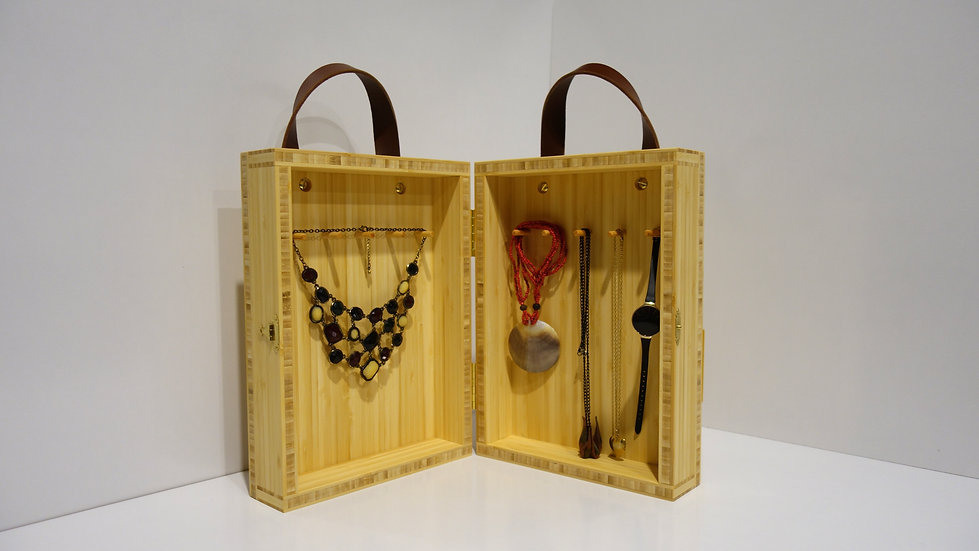 Bamboo Jewellery Box