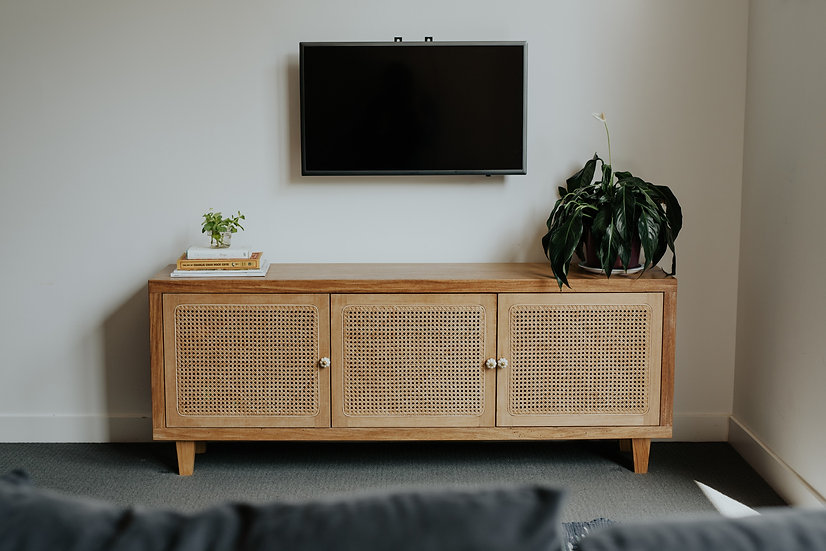 Rattan TV Console Production - Part 1