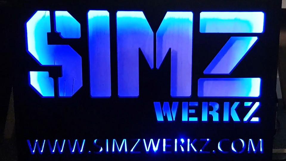 simz werkz - brand lighting board