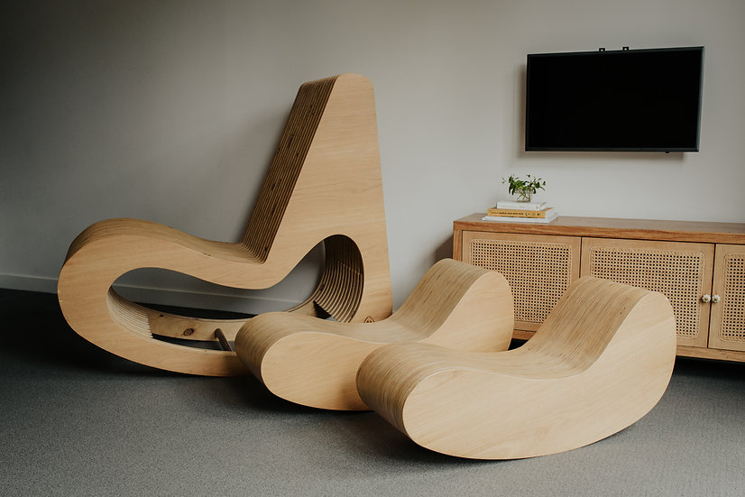 Mother + Child Rocking Chair
