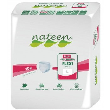 Nateen Flexi Plus Large - 10 protections