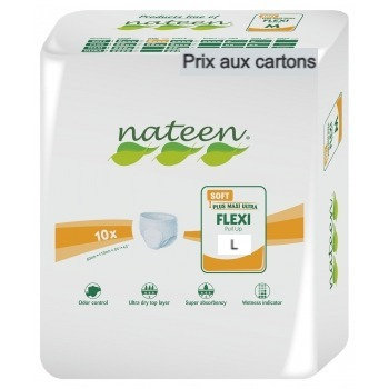 Nateen Flexi Soft Large - 8 paquets de 10 protections