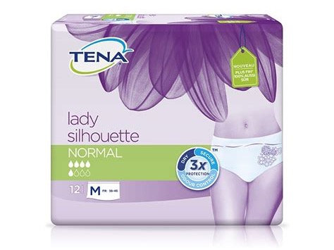 Tena lady silhouette normal medium- 12 protections