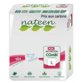 Nateen Combi Plus Large - 8 paquets de 10 protections
