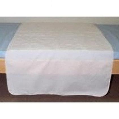 Alèse textile 75x90 cm polyester avec rabat