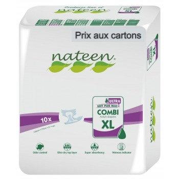 Nateen Super Ultra XL - 8 paquets de 10 protections