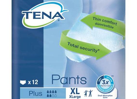 Tena pants plus XL - 14 protections