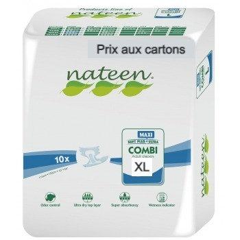 Nateen Combi Maxi XL - 8 paquets de 10 protections