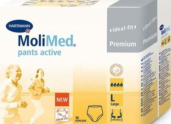 Hartmann molimed pants active Large -10 protections