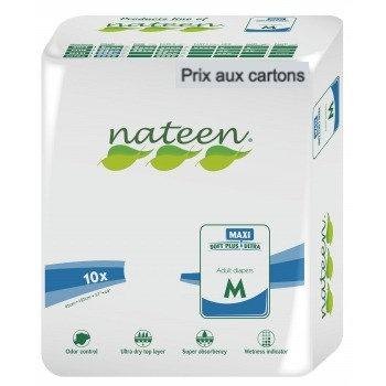 Nateen Flexi Maxi Medium - 8 paquets de 10 protections