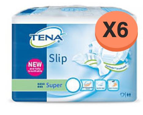 Tena Slip Super Small - 6 Paquets de 30 protections