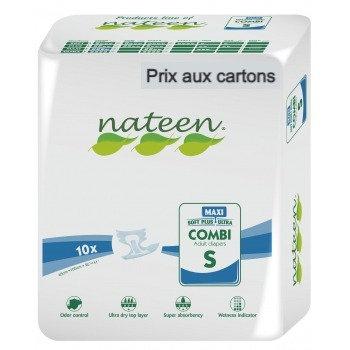 Nateen Combi Maxi Small - 8 paquets de 10 protections
