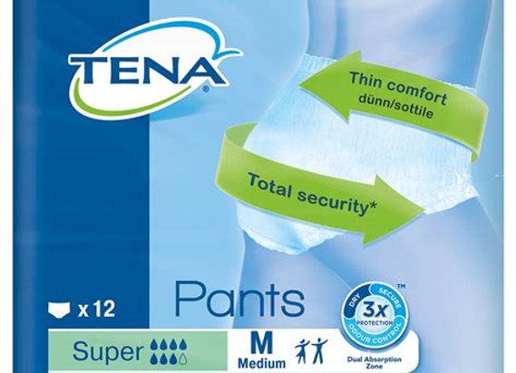 Tena pants super Medium - 12 protections