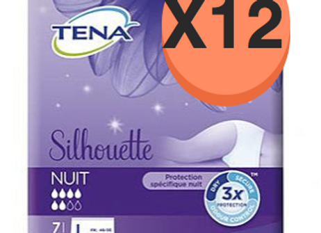 Tena ladyNight pants Large - 12 paquets de 7 protections