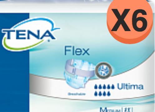 Tena Flex Ultima Médium - 6 Paquets de 20 Protections