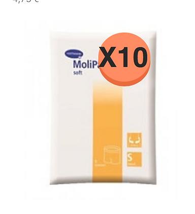 10 Paquets de Hartmann Molicare Fixation Pants Small