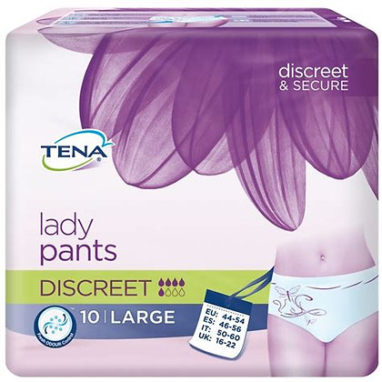 Tena lady silhouette discreet Large- 10 protections
