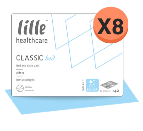 LCBD8111 - Alèses Extra 40x60cm /  8 paquets de 35Protections