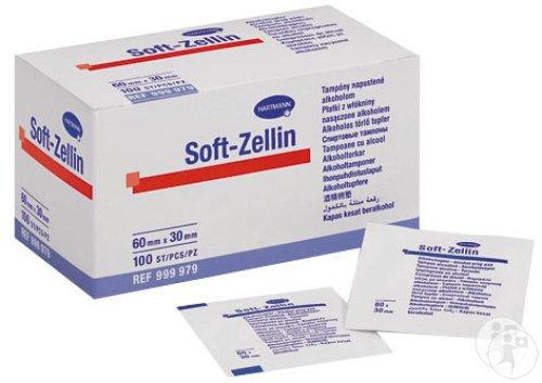 Tampons alcool hartmann soft-zellin