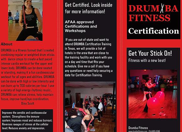 Drumba Certification