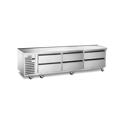 "Traulsen 96"" Chef Base"