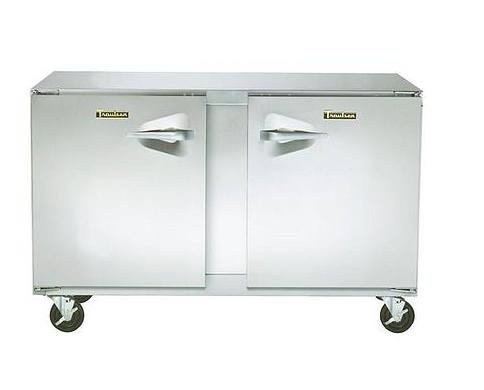 "Traulsen 48"" 2-Section Undercounter Freezer"