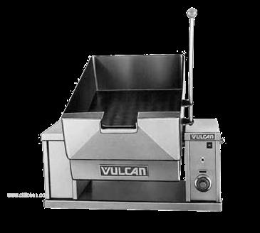 Vulcan Electric Countertop Braising Pan