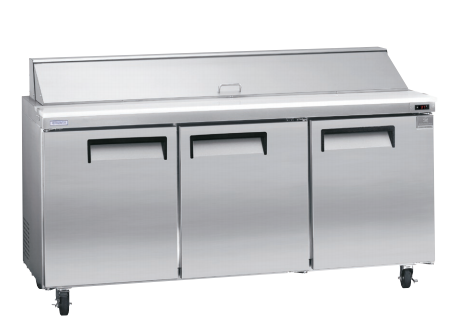 "Kelvinator - 70"" Sandwich Prep Table"