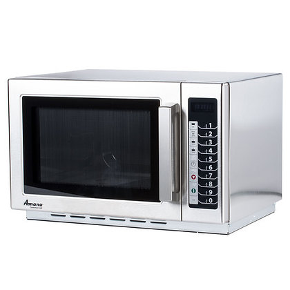 Amana 1000 Watt Commercial Microwave Oven