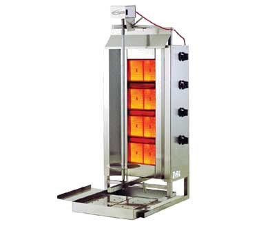 Axis Stainless steel Gas Broiler