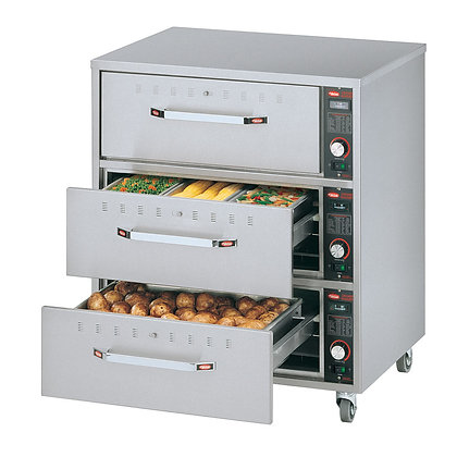 Hatco 3-Freestanding Drawer Warmer