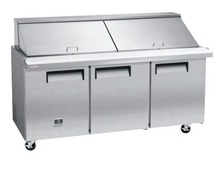 "Kelvinator - 70"" Megatop Sandwich Prep Table"