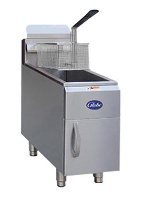 Globe 15lbs. Gas Countertop Fryer
