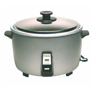 "Panasonic 24.5"" Rice Cooker - 140 servings"