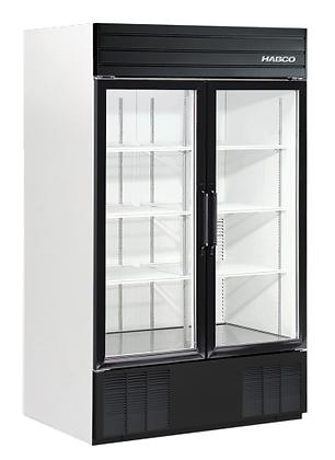 Habco - Commercial Glass 2-door Fridge