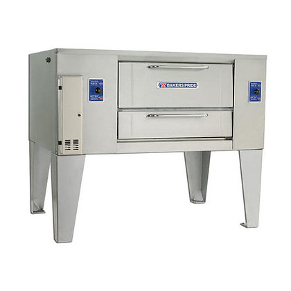 """Bakers Pride 62"""" Single Gas Deck Oven"""