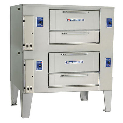 Bakers Pride Double gas deck Pizza Oven